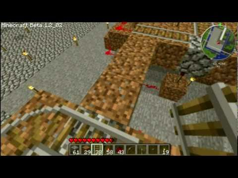 Minecraft Beginner's Redstone: Railroad Track, Junction, Switch, and  Indicator Light Tutorial