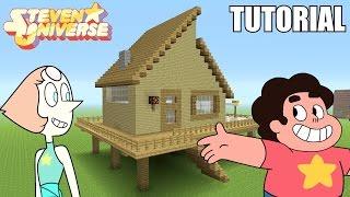 "Minecraft Tutorial: How To Make ""Steve Universe's"" House!! ""Steven Universe"" (Survival House)"