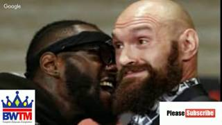 WILDER VS FURY : THE FIGHT WITHIN THE FIGHT #realtalk #wilderfury