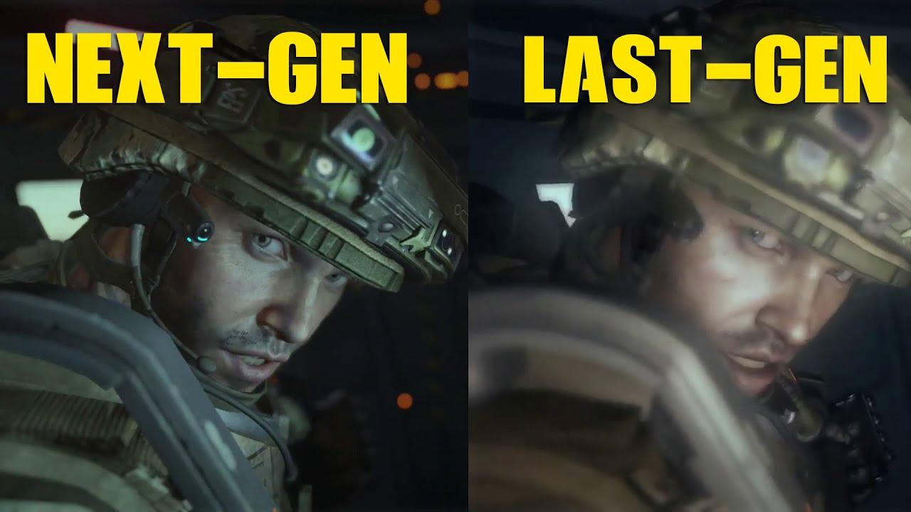 Call of Duty: Advanced Warfare PS4 VS XBOX 360 Graphics ...