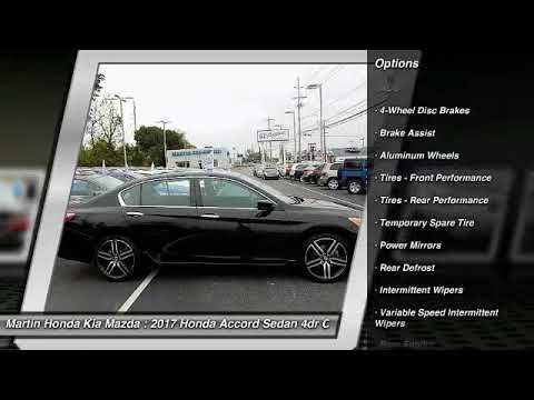 2017 Honda Accord Sedan Martin Honda Kia Mazda T14707
