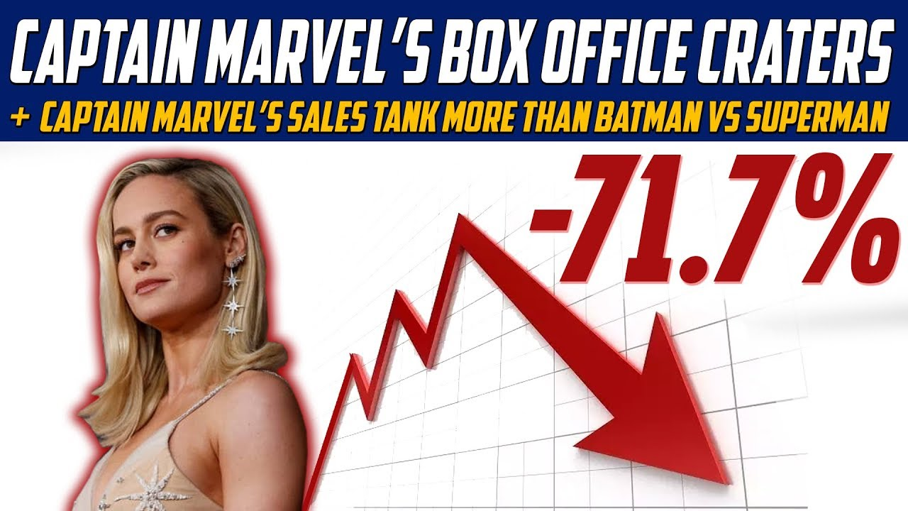 captain marvel's box office numbers crater! - why political