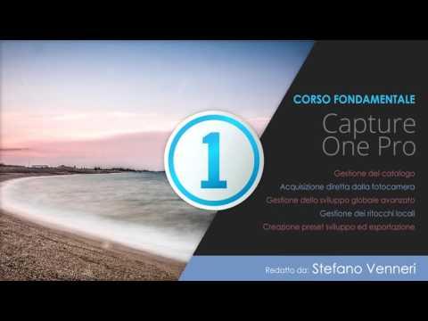 Introduzione al corso - Corso di Capture One Pro 10 [ITA]