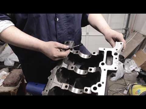 Сборка двигателя Ford Transit 2.2 TDCI (Euro5)  (Часть 1)