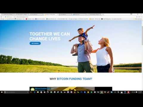 BitCoin CrowdFunding Team Explained!