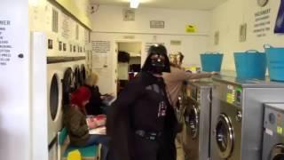 Andrews laundry Harlem shake!!!!!