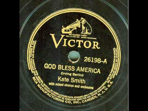Kate Smith - God Bless America (original 78 rpm)