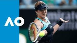 Angelique Kerber vs Anastasia Pavlyuchenkova - Match Highlights (4R) | Australian Open 2020