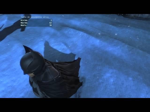 Batman Arkham Origins na GTX 760