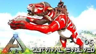 ARK: SURVIVAL EVOLVED: ALPHA CHALICO & DILO TAMING E05 !!! ( EXTINCTION CORE MODDED )