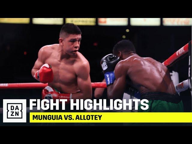 FULL CARD HIGHLIGHTS | Jaime Munguia vs. Patrick Allotey
