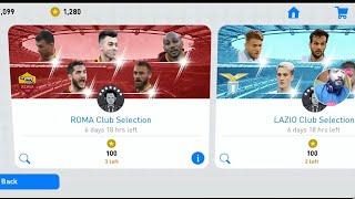 ROMA Club Selection _ PES 19 Mobile
