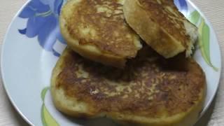 Горячие бутерброды с картошкой//Что приготовить когда пусто в холодильнике)