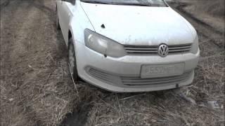 Фольксваген поло седан. VW polo седан по грязи. Стандартная резина - кама не вывозит.(, 2013-04-13T04:09:09.000Z)