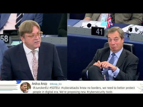 """Guy Verhofstadt lashes out at Nigel Farage """"The only one who still doesn't get it is Mr Farage"""""""
