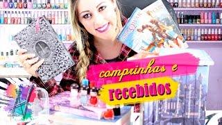 Comprinhas e Recebidos - Abril /Maio 2016 (livros, esmaltes, maquiagens...) - Nill Art