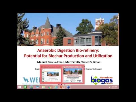 Anaerobic Digestion Bio-refinery: Potential for Biochar Production and Utilization