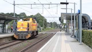 Strukton Rail G1206 303007 passes Twello to Apeldoorn