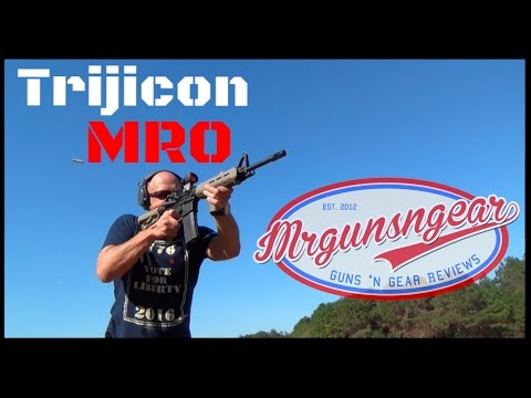 Trijicon MRO Red Dot Optic Review: Aimpoint Killer? (HD)