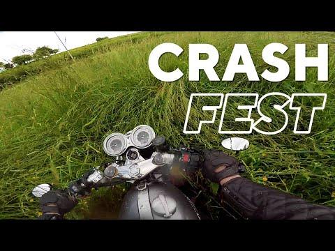 Crash Fest Motorcycle - Pico's de Europa June 2018 Part 2