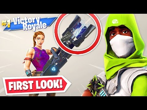 *new* Never Seen Before Fortnite Skins, Weapons + More!