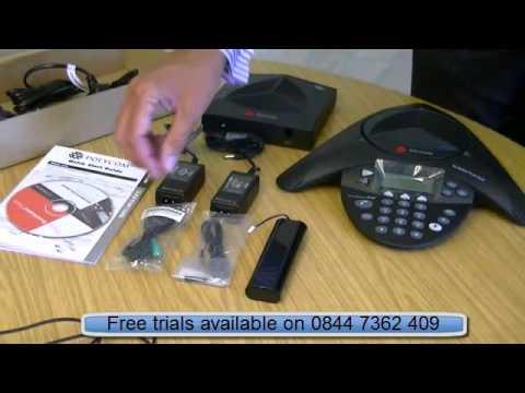 polycom soundstation2W wireless conference phone