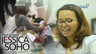 Kapuso Mo, Jessica Soho: Dalagang naputulan ng braso sa MRT, kumusta na?