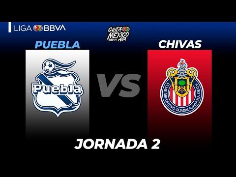 Puebla Guadalajara Chivas Goals And Highlights