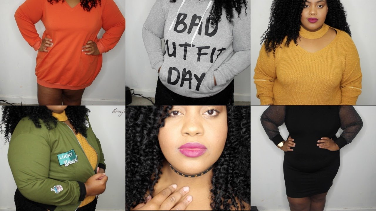 Sammy Dress Plus Size Winter Try-On Haul | Sweaters, Outerwear ...