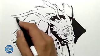 How to draw kyuubi mode videos / InfiniTube