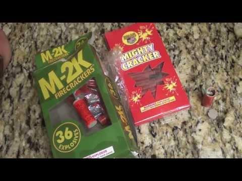 fireworks M-# vs little dynamite firecrackers