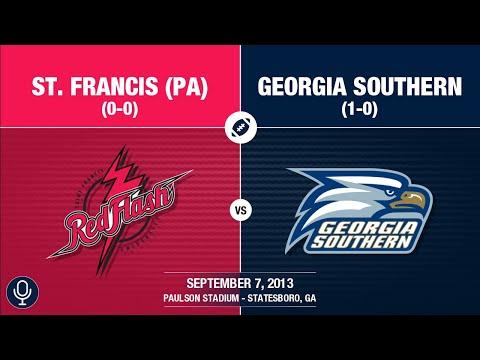 2013 Week 2 - St  Francis (PA) at Georgia Southern