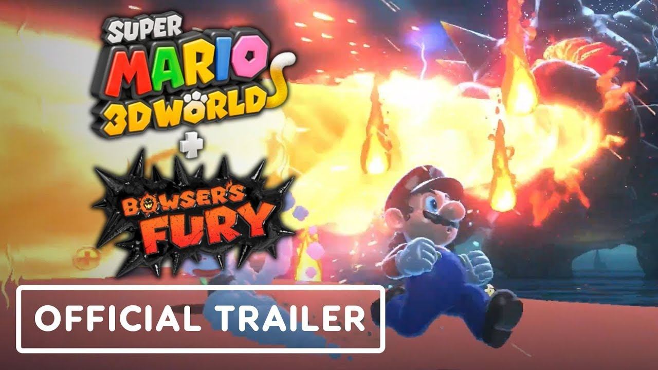 Super Mario 3D World + Bowser's Fury - Official Gameplay Trailer