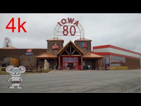World's Largest Truckstop (Iowa 80) Walcott, Iowa in 4K