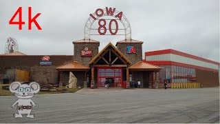 World's Largest Truckstop (Iowa 80) Walcott, Iowa in 4K