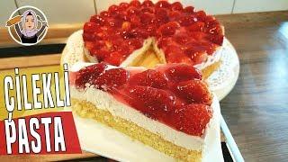 Lezzeti Harika Çilekli Pasta Tarifi  | Hatice Mazı ile Yemek Tarifleri