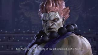 Tekken 7 - Akuma VS Heihachi Story Mode and Cutscene Comparison (All Versions)