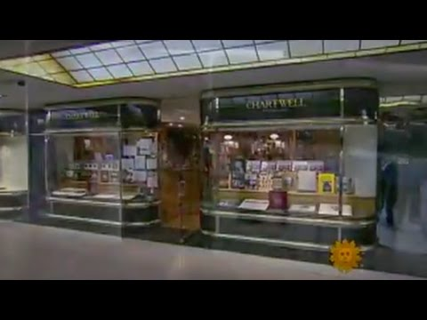 CBS SUNDAY MORNING Visits CHARTWELL BOOKSELLERS (2010)
