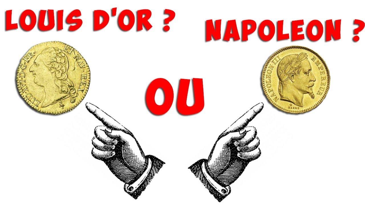 Achat Or Louis D Or Ou Napoleon Youtube