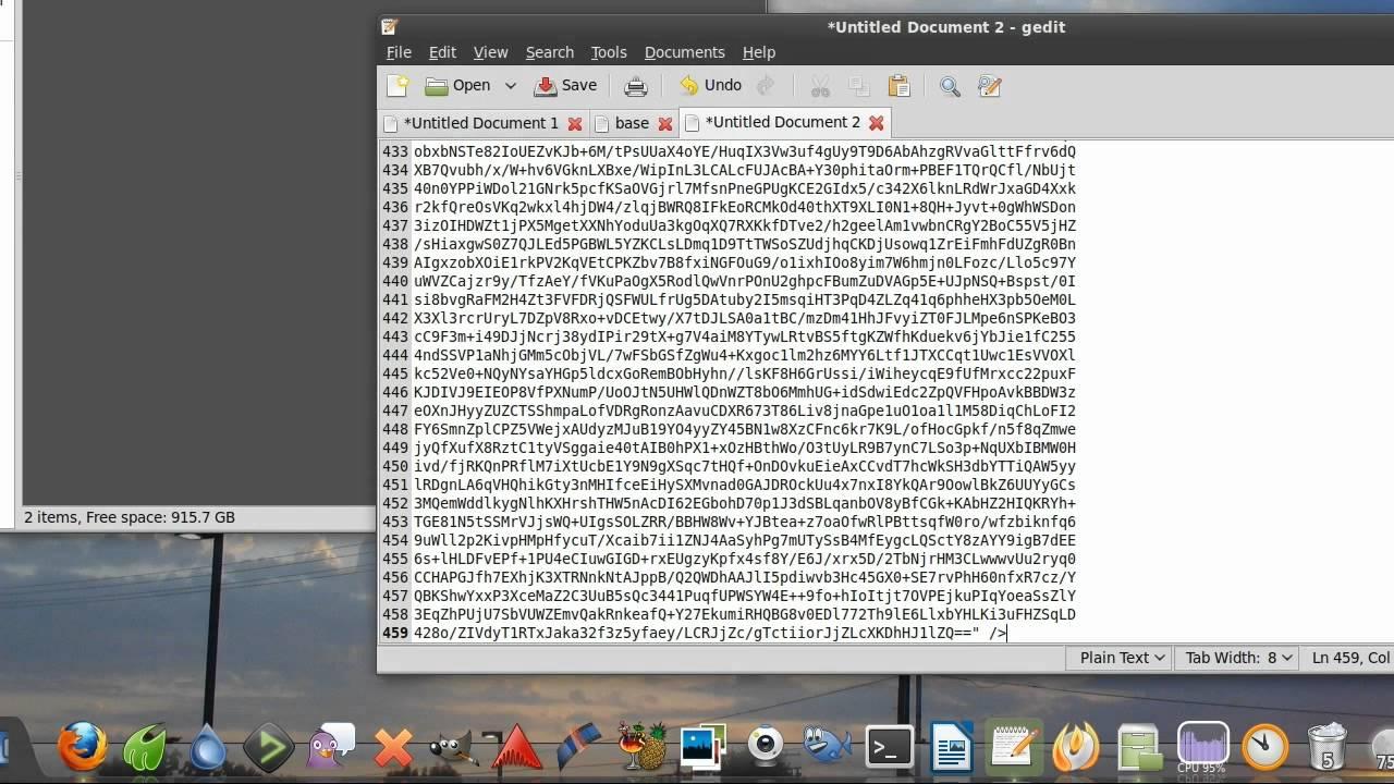 Base64 in HTML