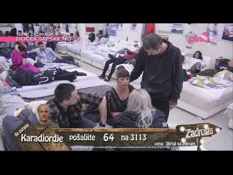 Zadruga 2 - Marija Kulić ušla u 'Zadrugu' i odmah se posvađala sa Miljanom - 13.01.2019.
