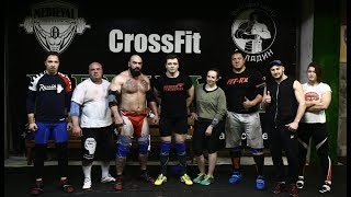 Mikhail Koklyaev & Mad Max. Training base Moscow Strongman In Crossfit Medieval/Paladin Group