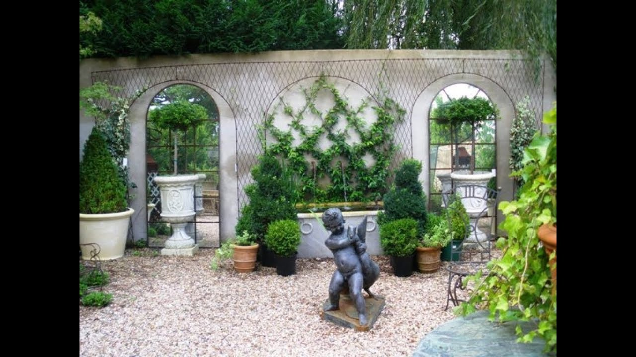 French Garden Design Ideas - YouTube