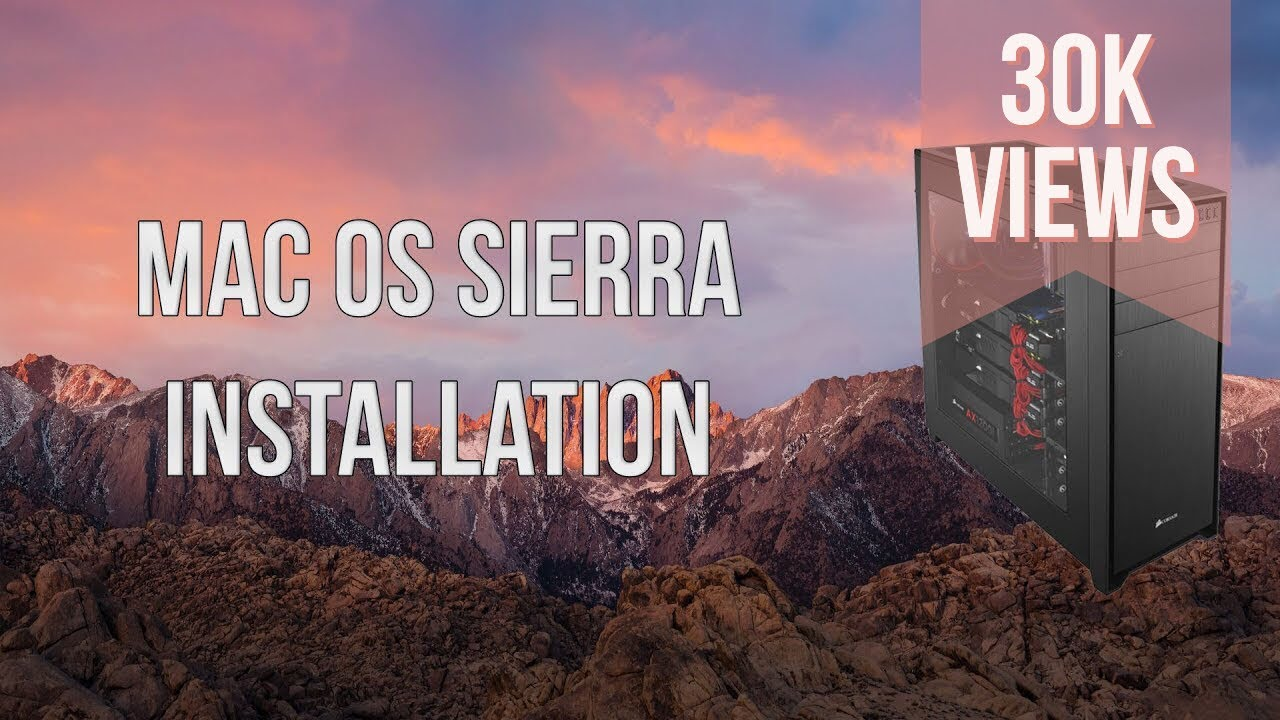 mac OS Sierra Complete Installation on PC (MSI Motherboard)