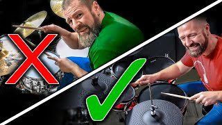 5 Ways Electronic Drum Sets are BETTER THAN Acoustic Kits  Alesis Strike Kit