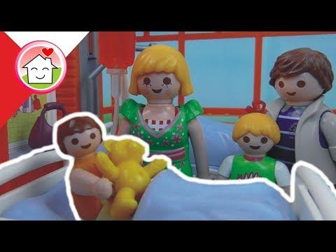 Playmobil Film Polski Ania w szpitalu - Rodziną Hauserów
