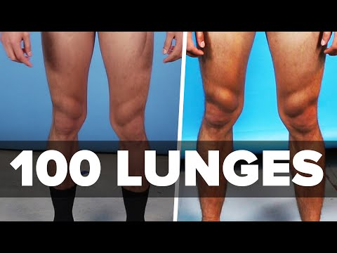 We Did 100 Lunges A Day For 30 Days