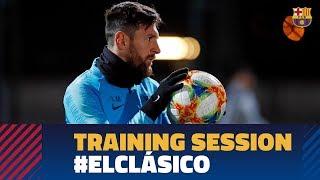 BARÇA 1-1 REAL MADRID | Ready for El Clásico in the Copa del Rey