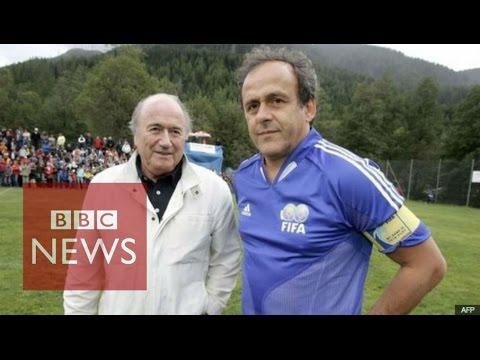 Fifa: Sepp Blatter, Michel Platini & Jerome Valcke suspended - BBC News