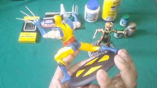 Toy makeover: meus dois primeiros trabalhos Wolverine e Loki